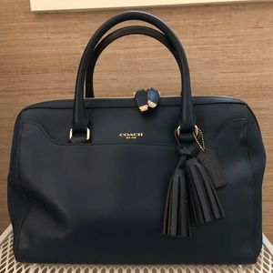 Coach Leather Legacy Pinnacle Large Haley Satchel